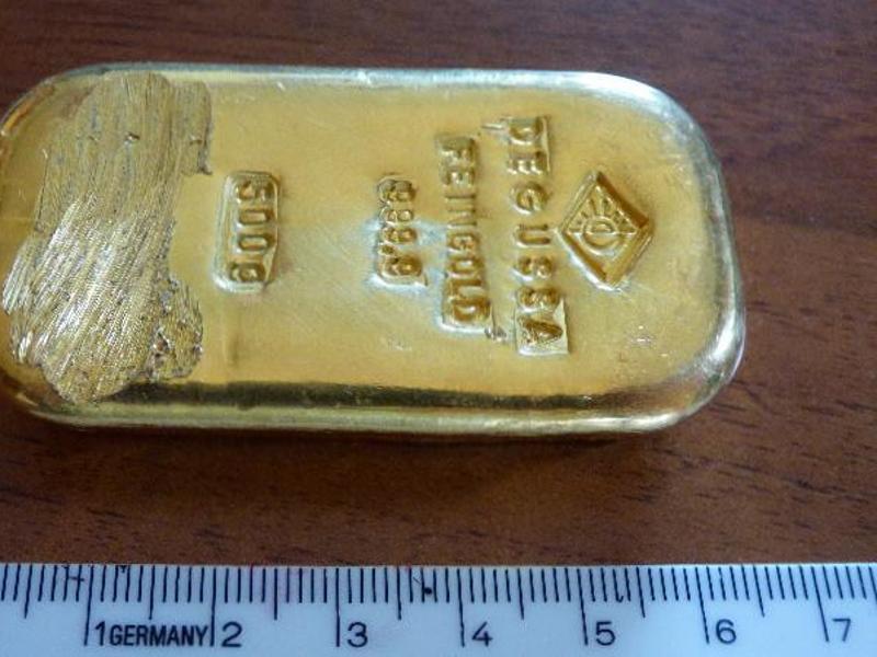 Bild zu Goldener Fund beim Baden
