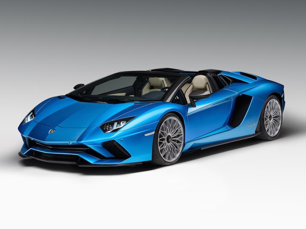Bild zu Top: Lamborghini Aventador S Roadster