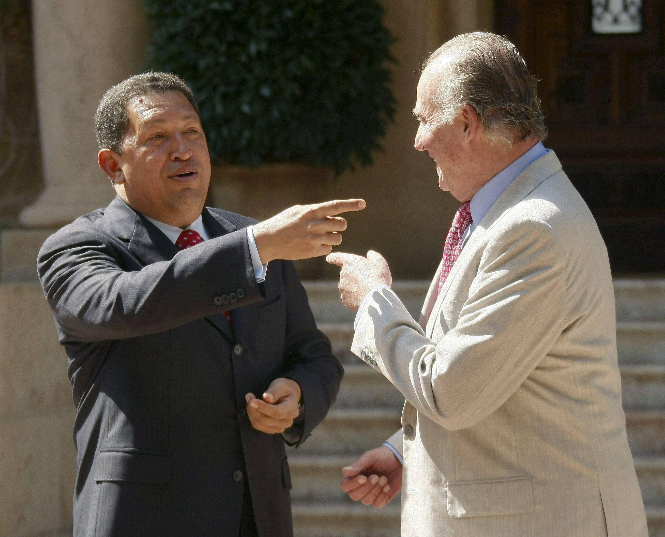 Bild zu Hugo Chavez, Juan Carlos