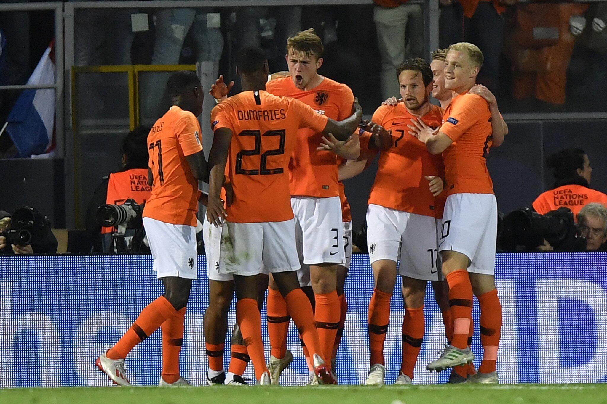 Bild zu Niederlande - England