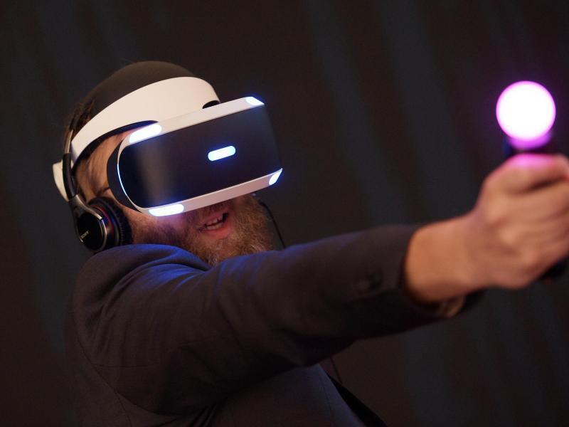 Bild zu Virtual-Reality-Gaming