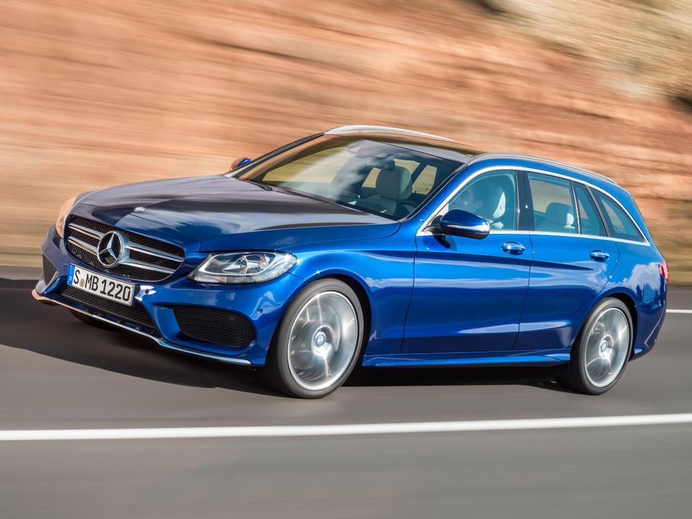 Bild zu Platz 2 Mittelklasse: Mercedes-Benz C-Klasse