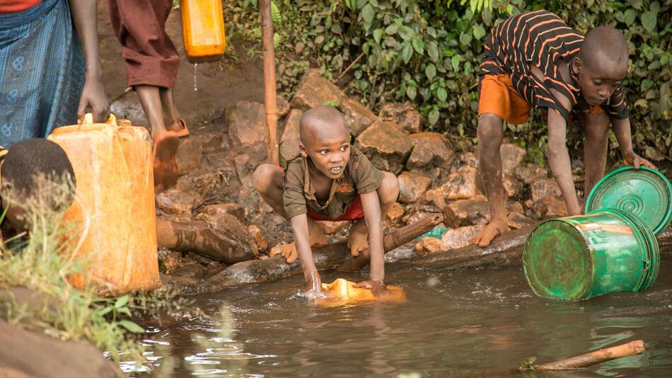 Weltwassertag, Trinkwassser, Burundi