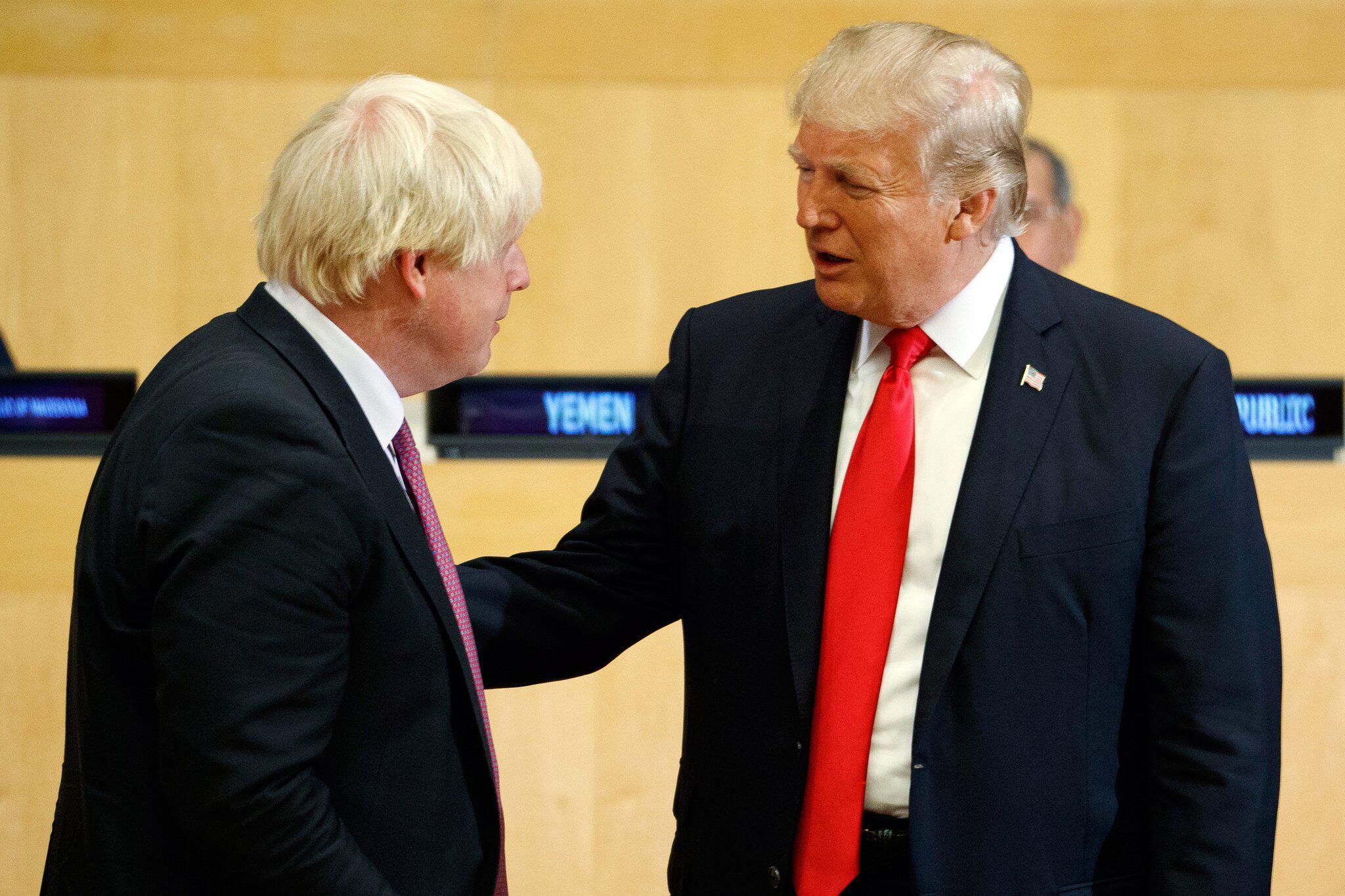Bild zu Boris Johnson und Donald Trump