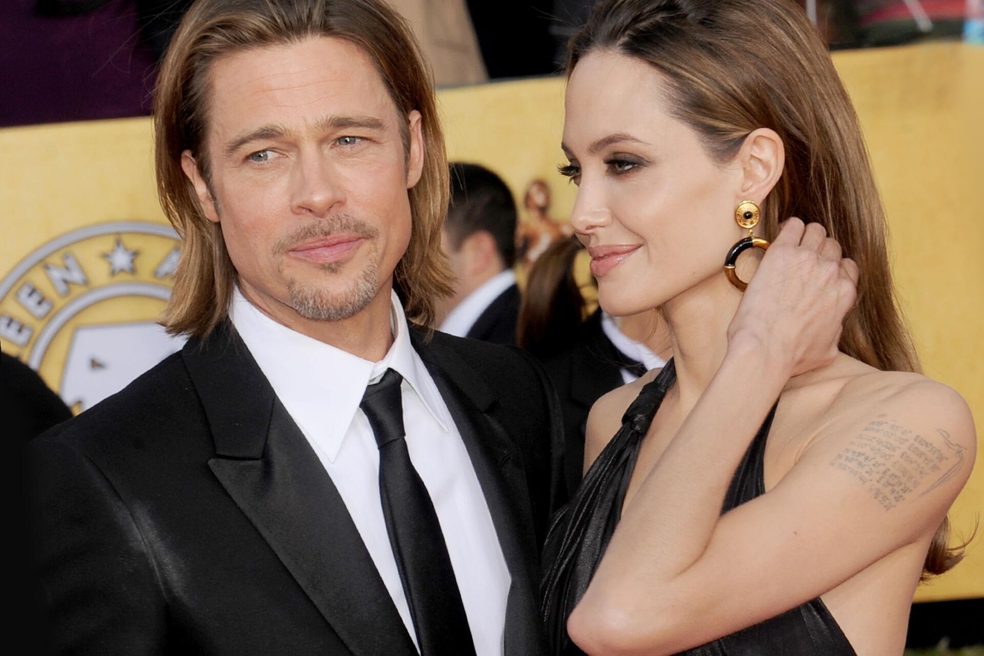 Bild zu Brad Pitt, Angelina Jolie, Scheidung, Tattoo, Brangelina
