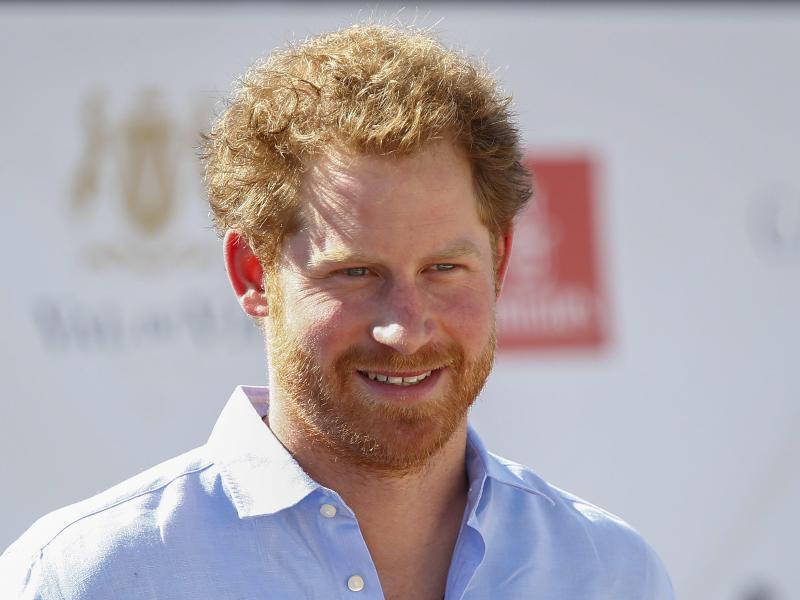 Bild zu Prinz Harry