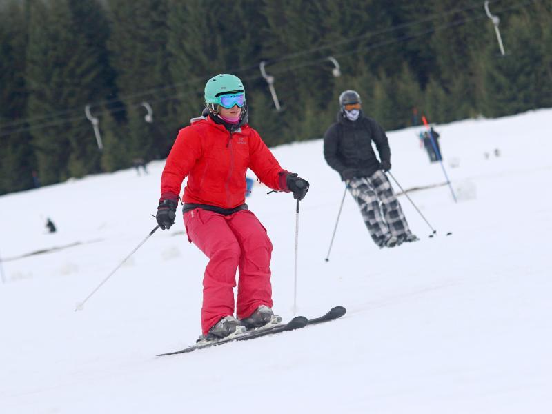 Bild zu Wintersportler im Harz