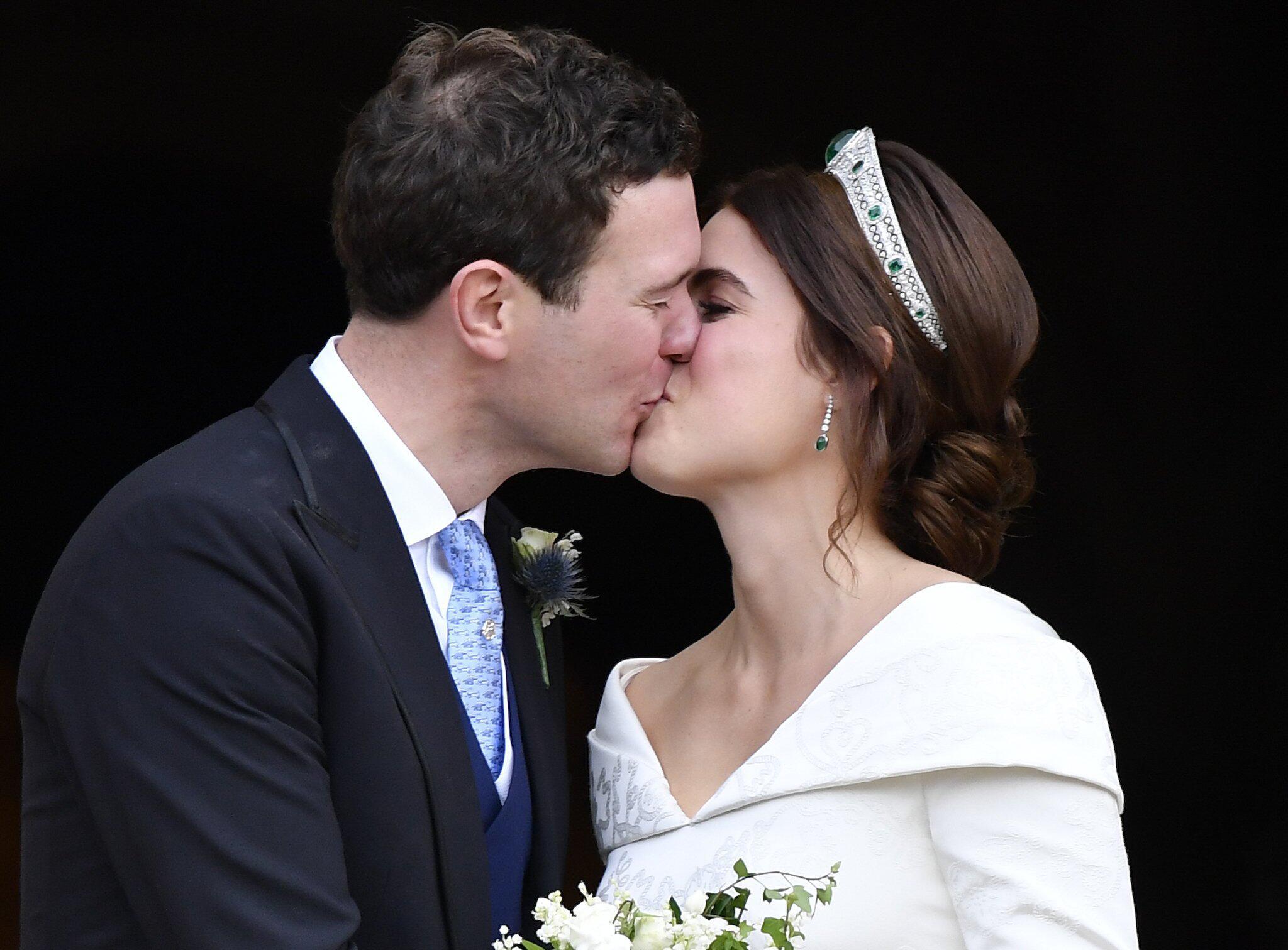 Bild zu Hochzeit von Prinzessin Eugenie