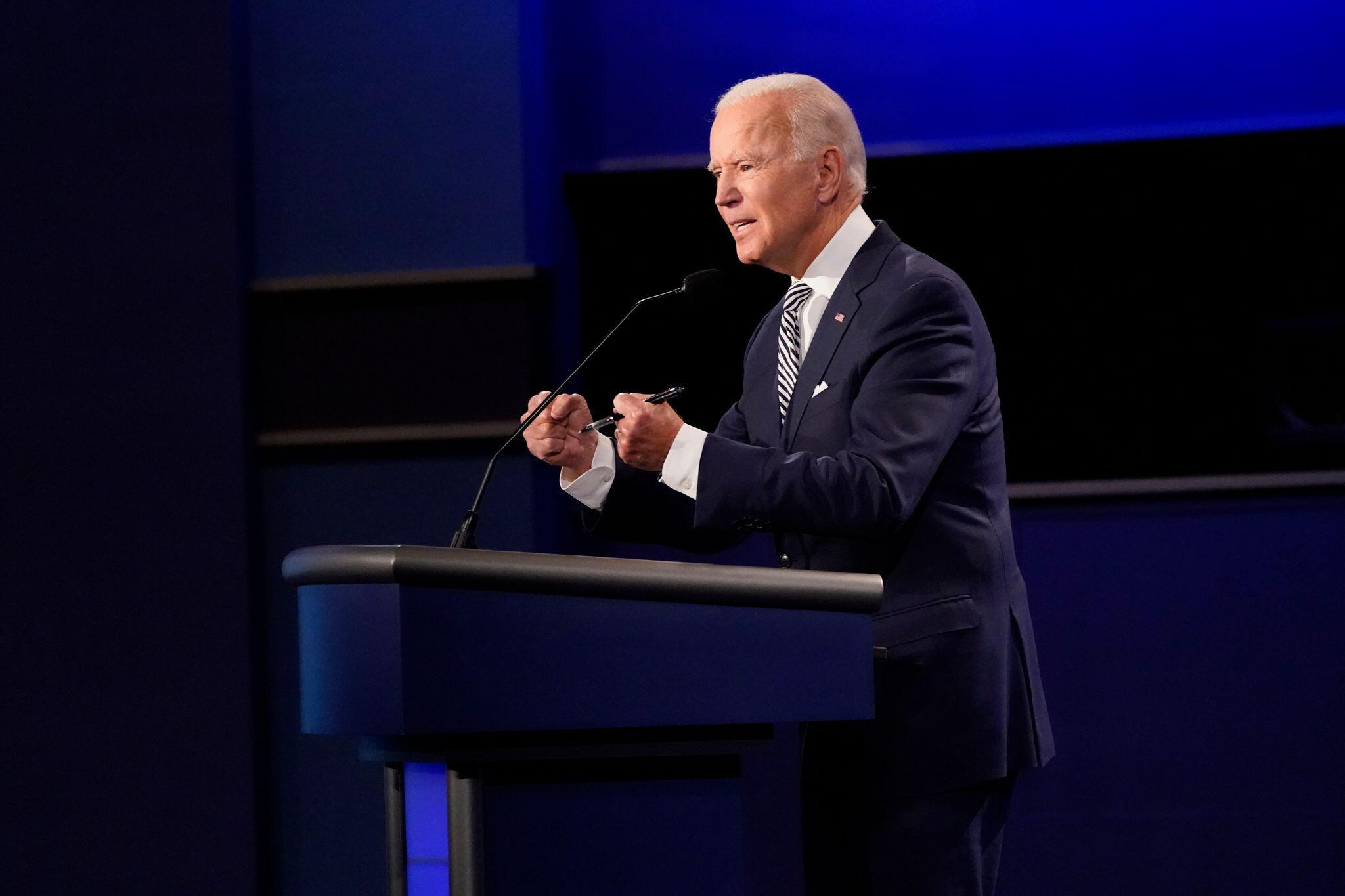 Bild zu Erste TV-Debatte zwischen Trump und Biden