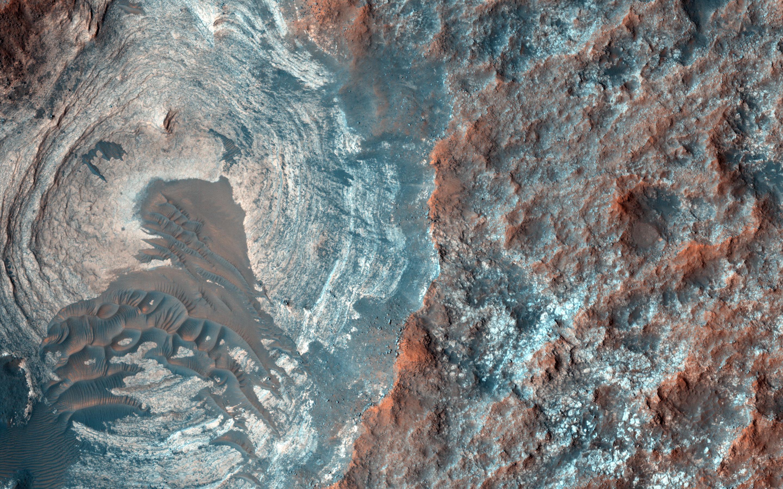 Bild zu Mars Reconnaissance Orbiter Dünen Hügel