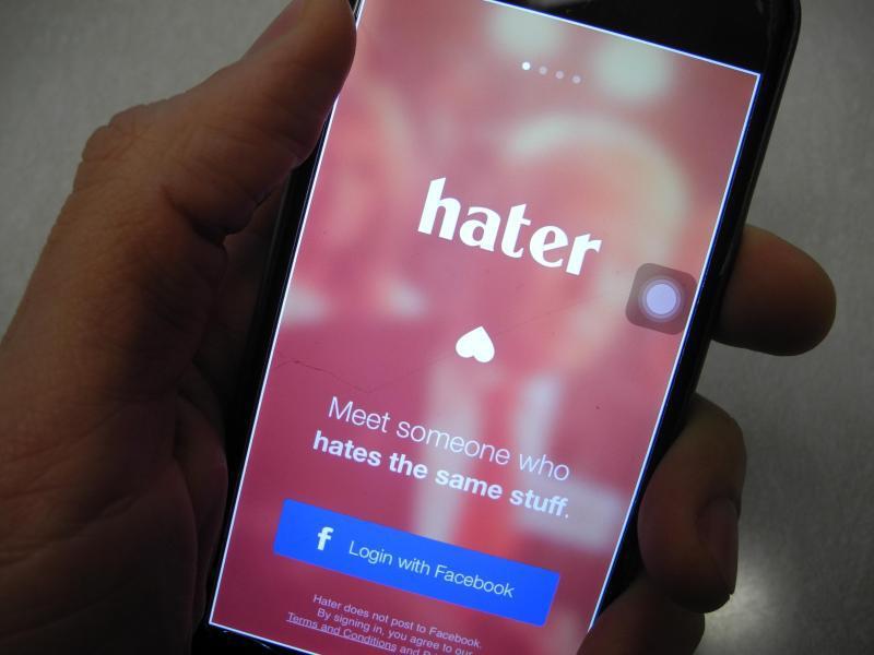 Bild zu Dating-App «Hater»