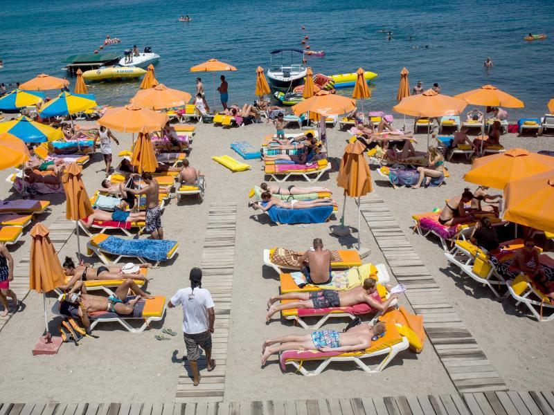 Bild zu Hitze in Griechenland