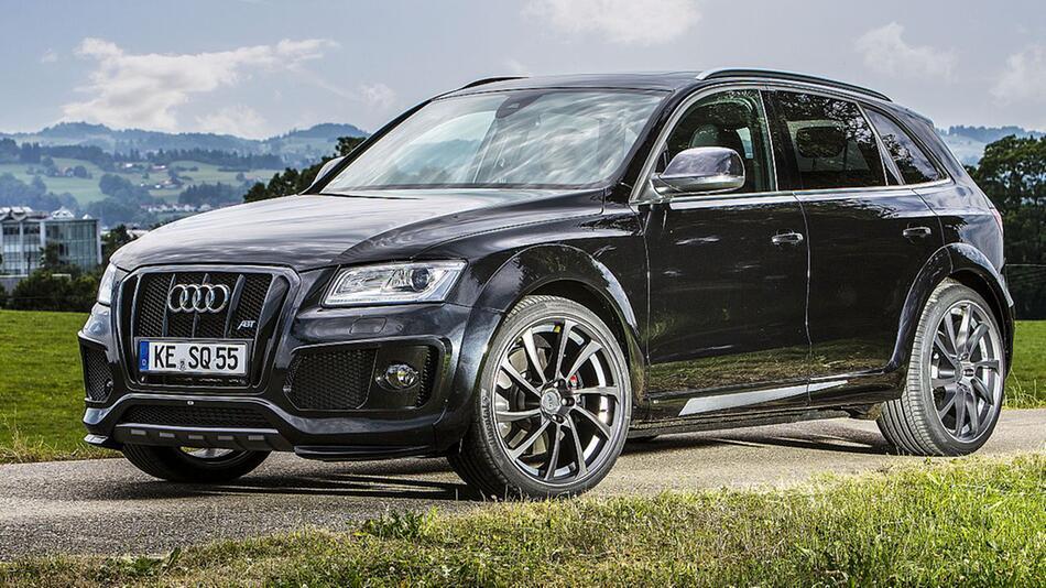 Optisch und leistungstechnisch aufgemotzter Audi SQ5 von Abt