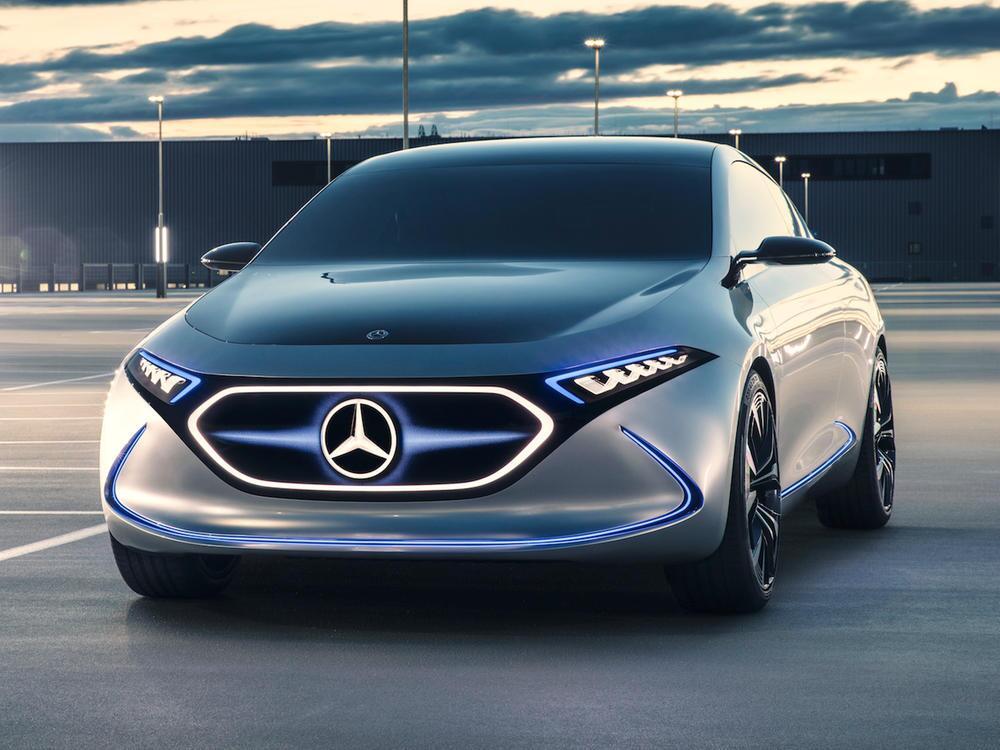 Bild zu Top: Mercedes-Benz Concept EQA