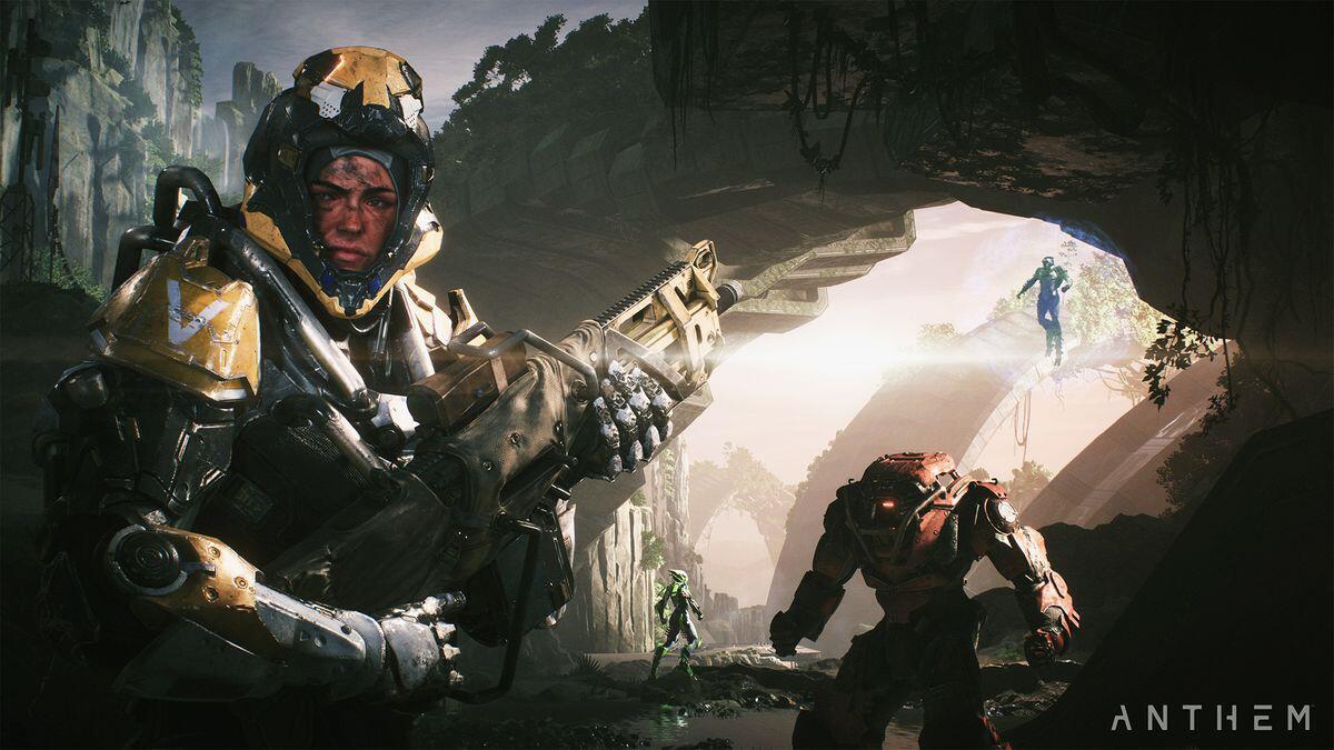 Bild zu Anthem, EA, Bioware, Shooter, Iron Man, Exoskelett, Action, Online, Anthem 2.0, Mass Effect