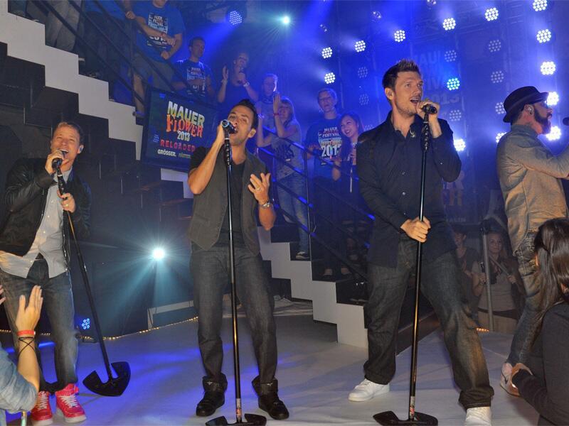 Bild zu Die Backstreet Boys bei GZSZ