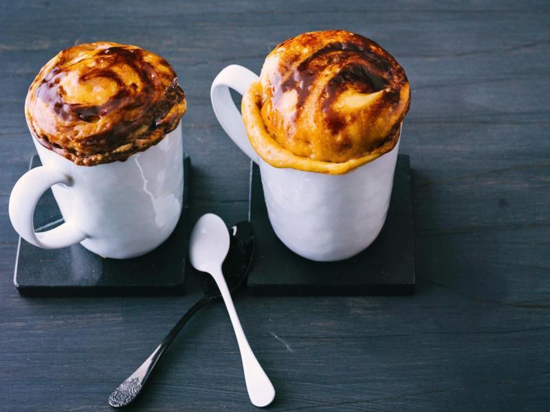 Bild zu Schoko-Mug-Cakes