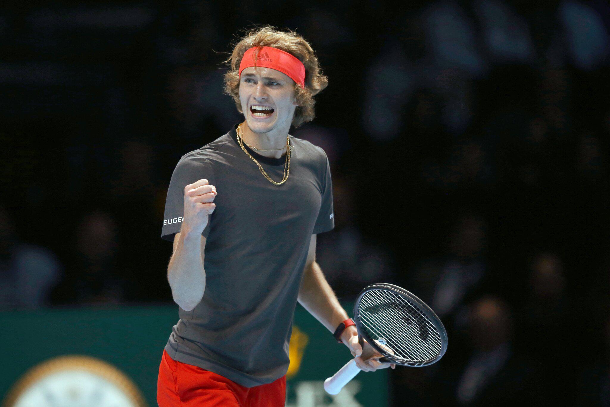 Tennisprofi Alexander Zverev gewinnt ATP-WM in London | WEB.DE