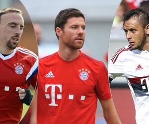 Franck Ribéry, Xabi Alonso und Rafinha