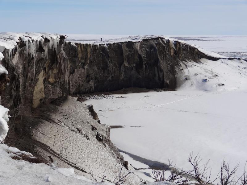 Bild zu Erosion in Alaska
