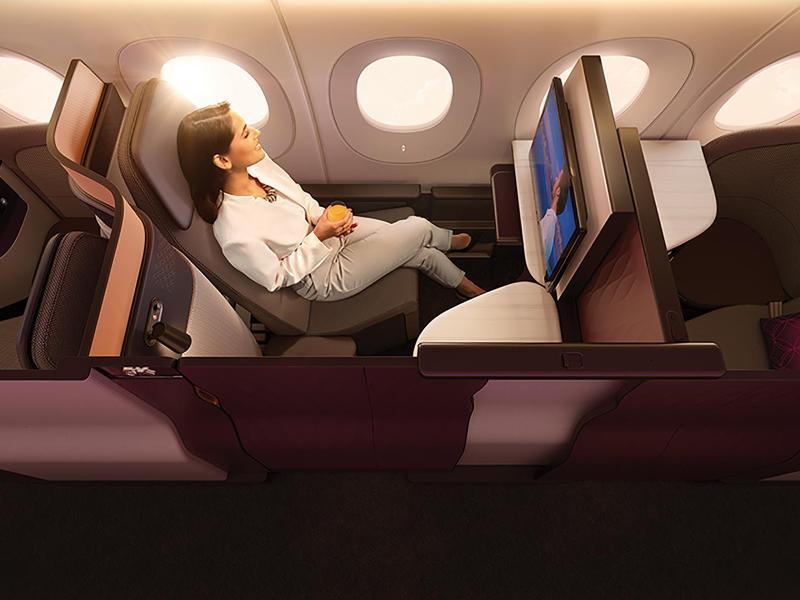 Bild zu Neue Business Class von Qatar Airways