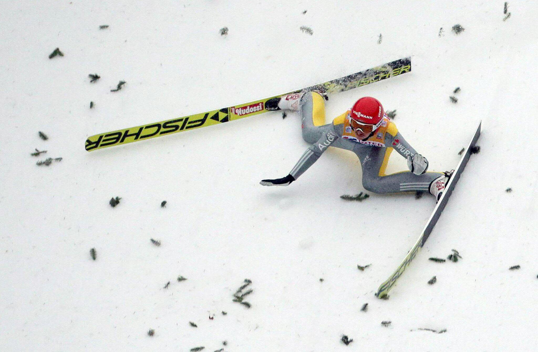 Richard Freitag: Sturz in Innsbruck bei ...