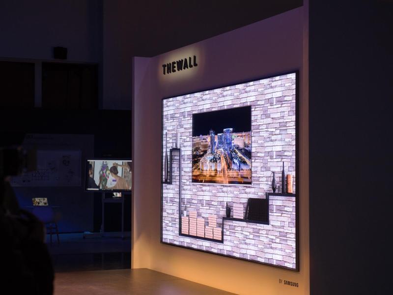 Bild zu «The Wall» Samsung