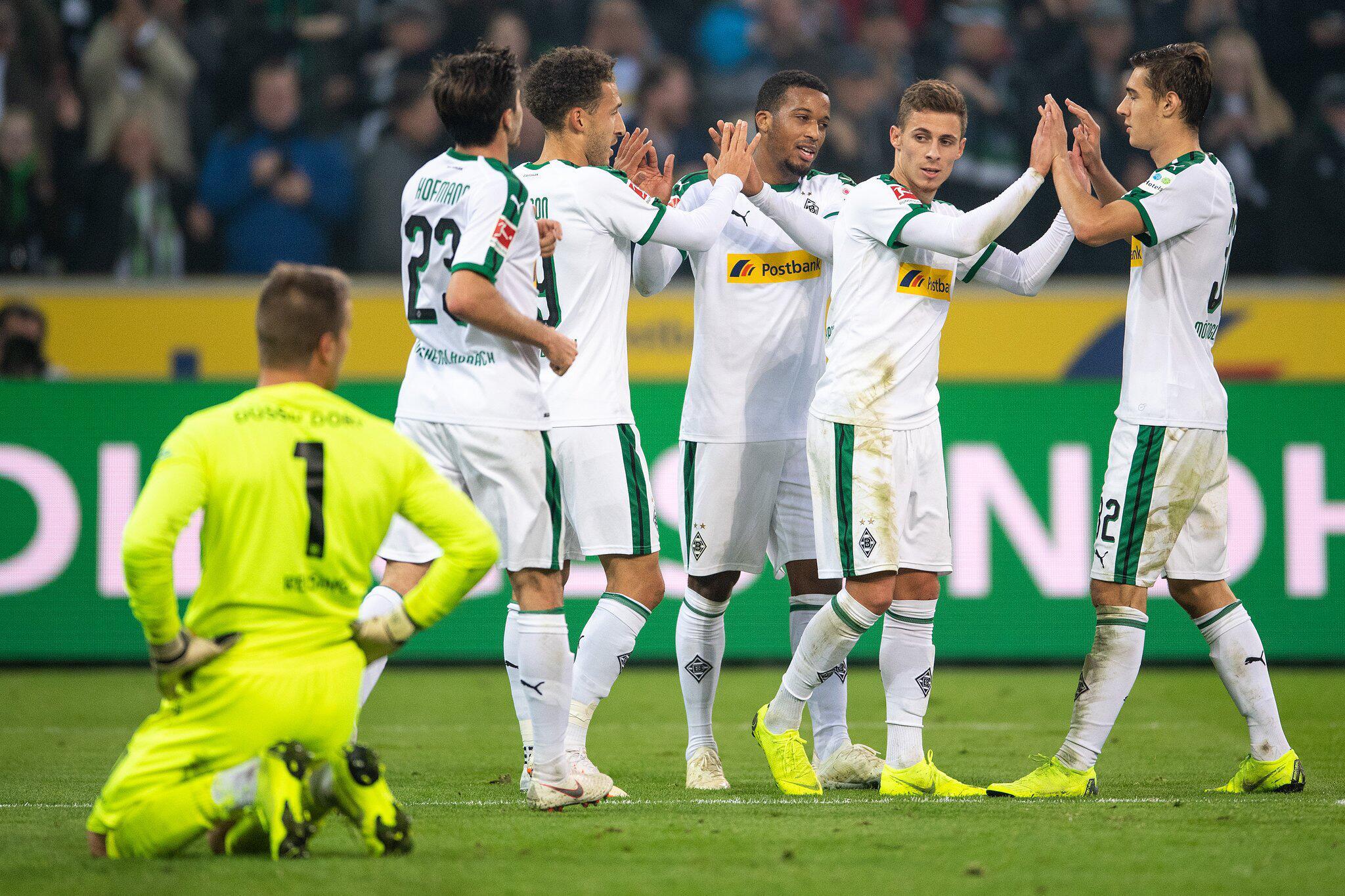 Bild zu Borussia Mönchengladbach, Fortuna Düsseldorf