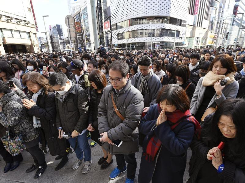 Bild zu Jahrestag von Fukushima