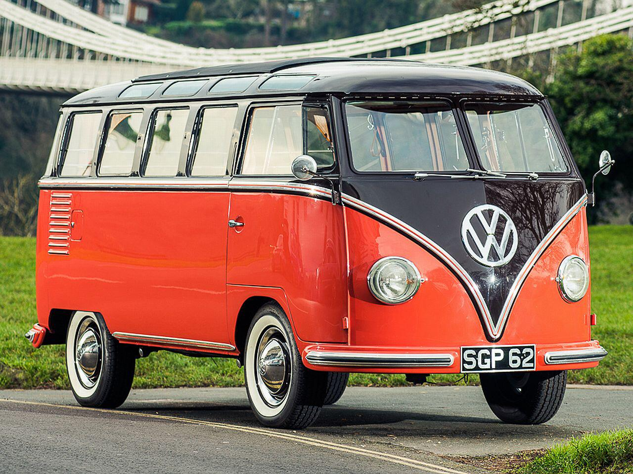 Bild zu VW T1 Samba