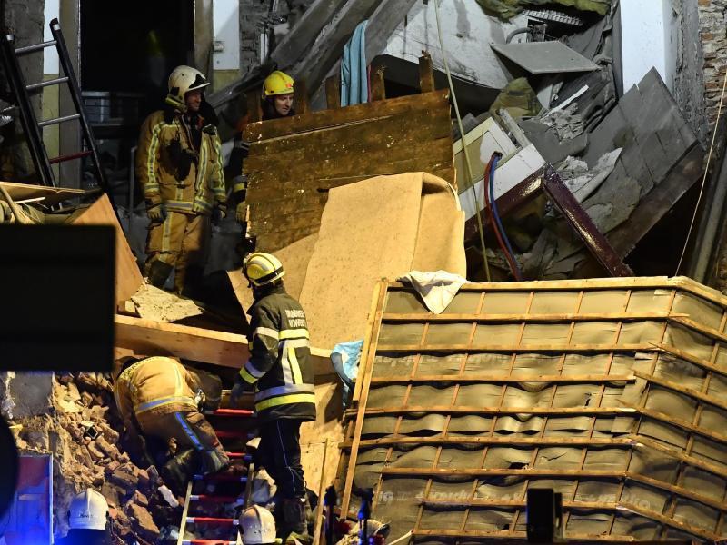 Bild zu Explosion in Antwerpen