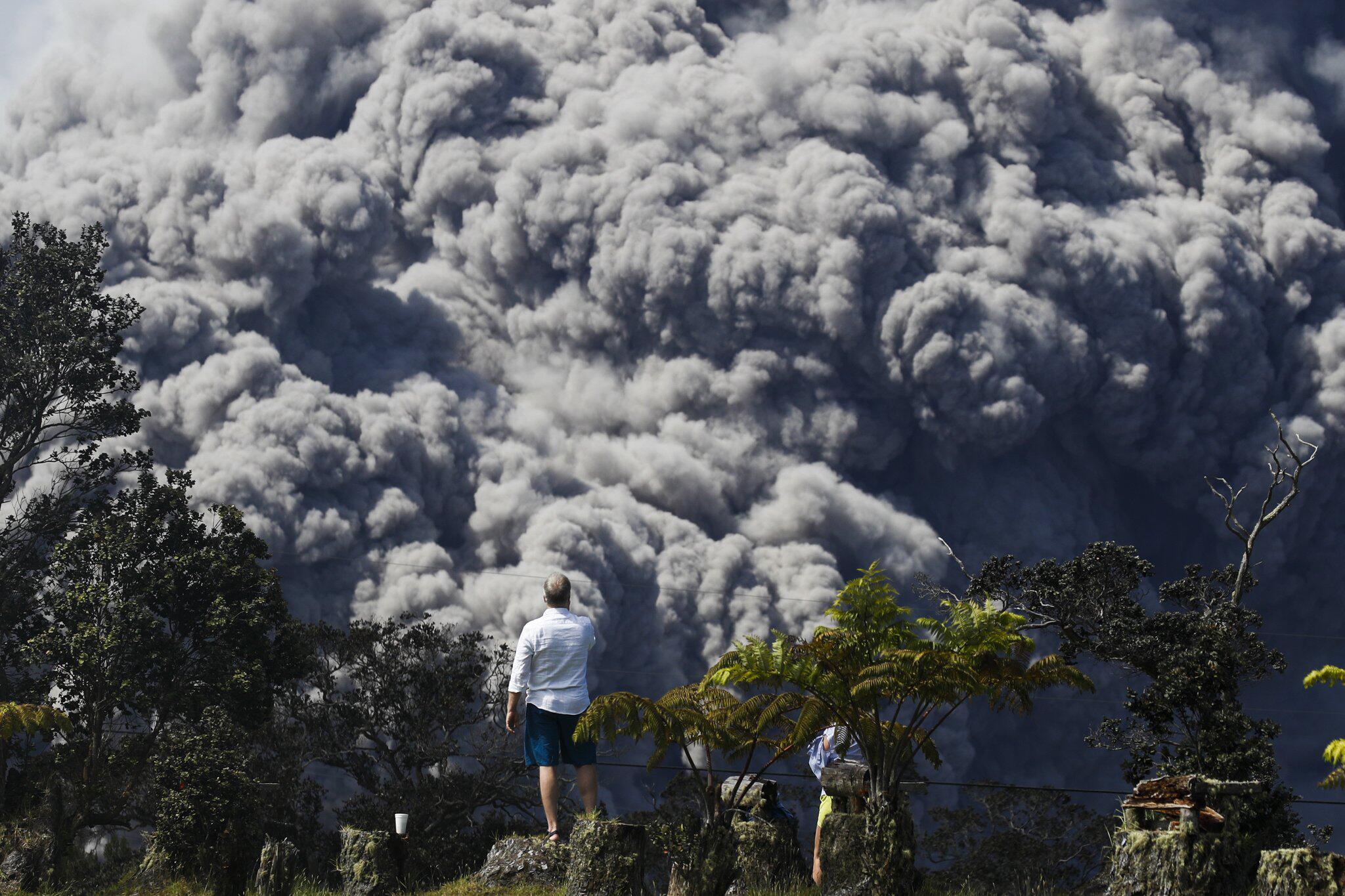 Bild zu Nach dem Vulkanausbruch Hawaii