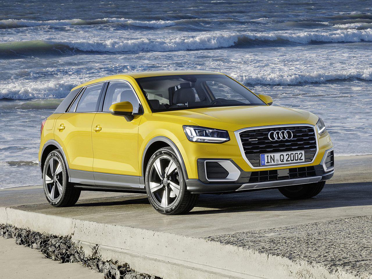 Bild zu Platz 10: Audi Q2