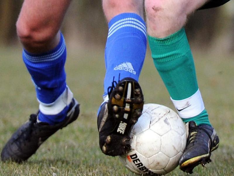 Bild zu Fußballer in Aktion