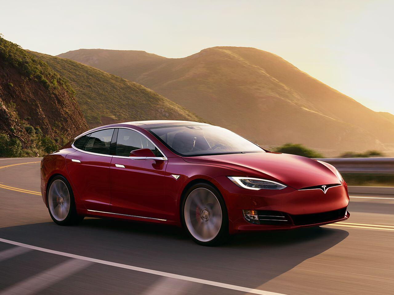 Bild zu Platz 10: Tesla Model S