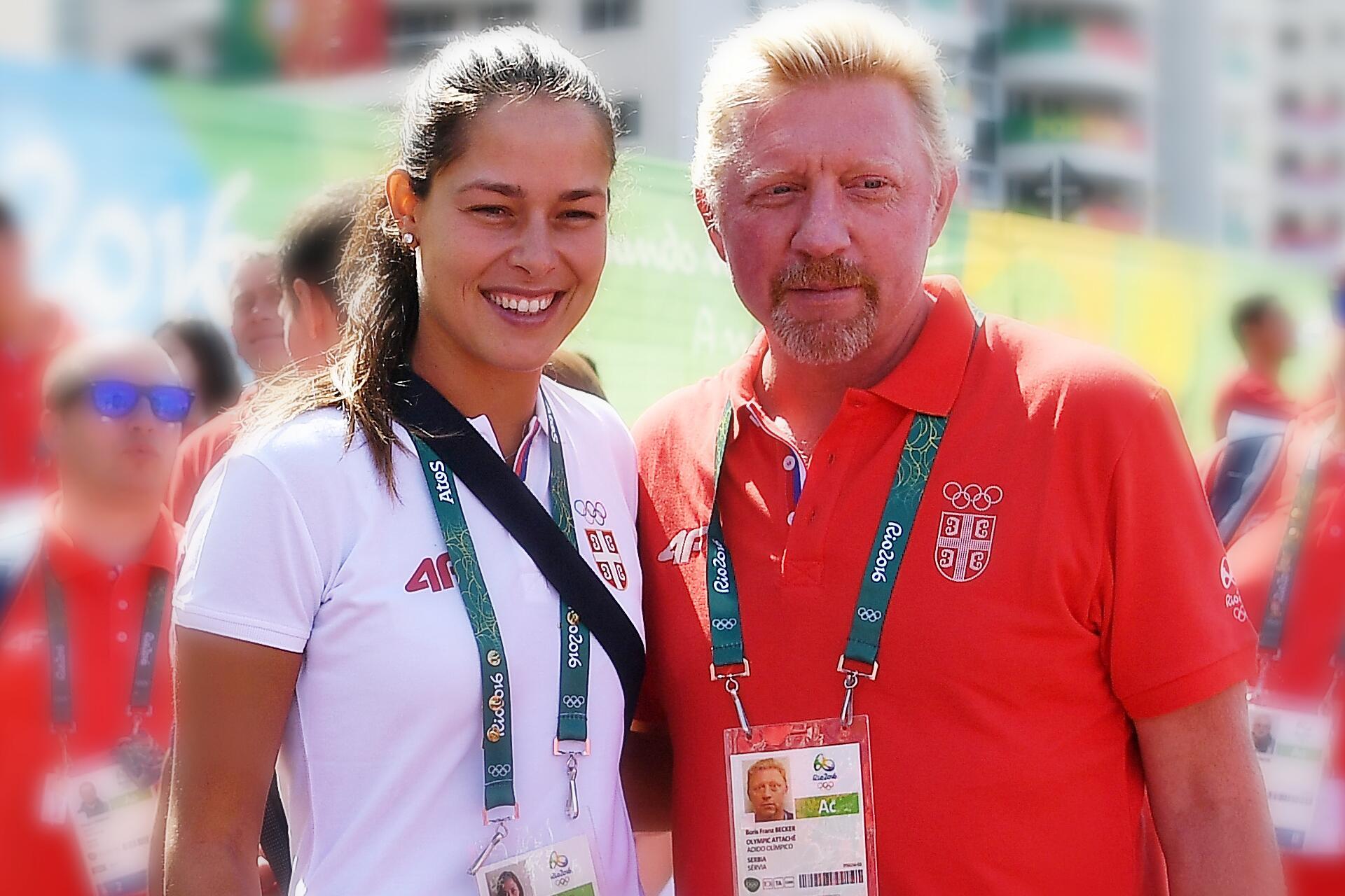 Bild zu Boris Becker, Ana Ivanovic, Glückwünsche