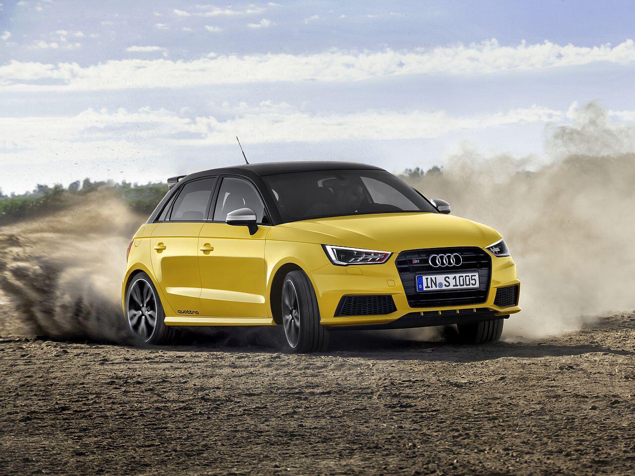 Bild zu 13. Platz: Audi S1