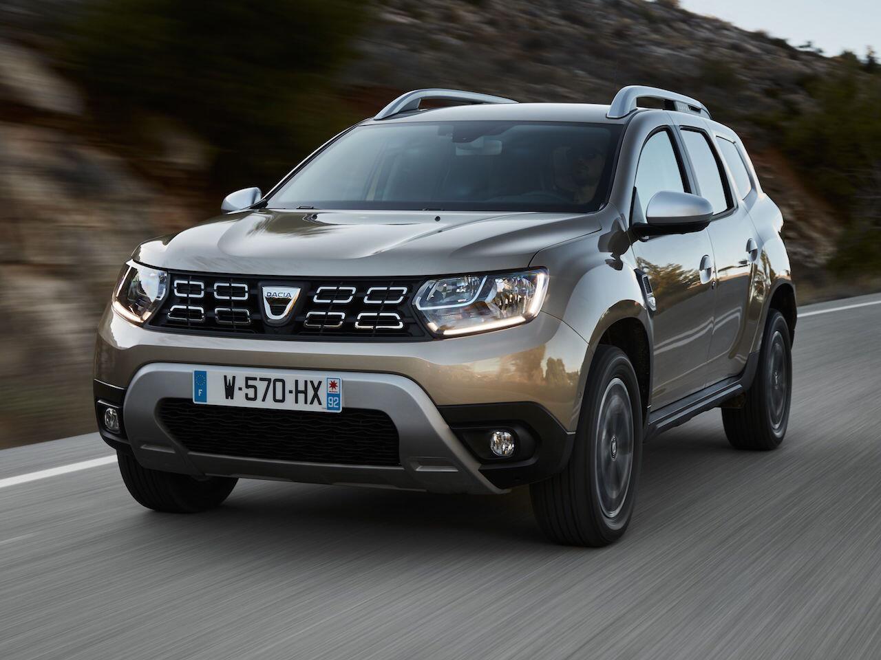 Bild zu Platz 7: Dacia Duster