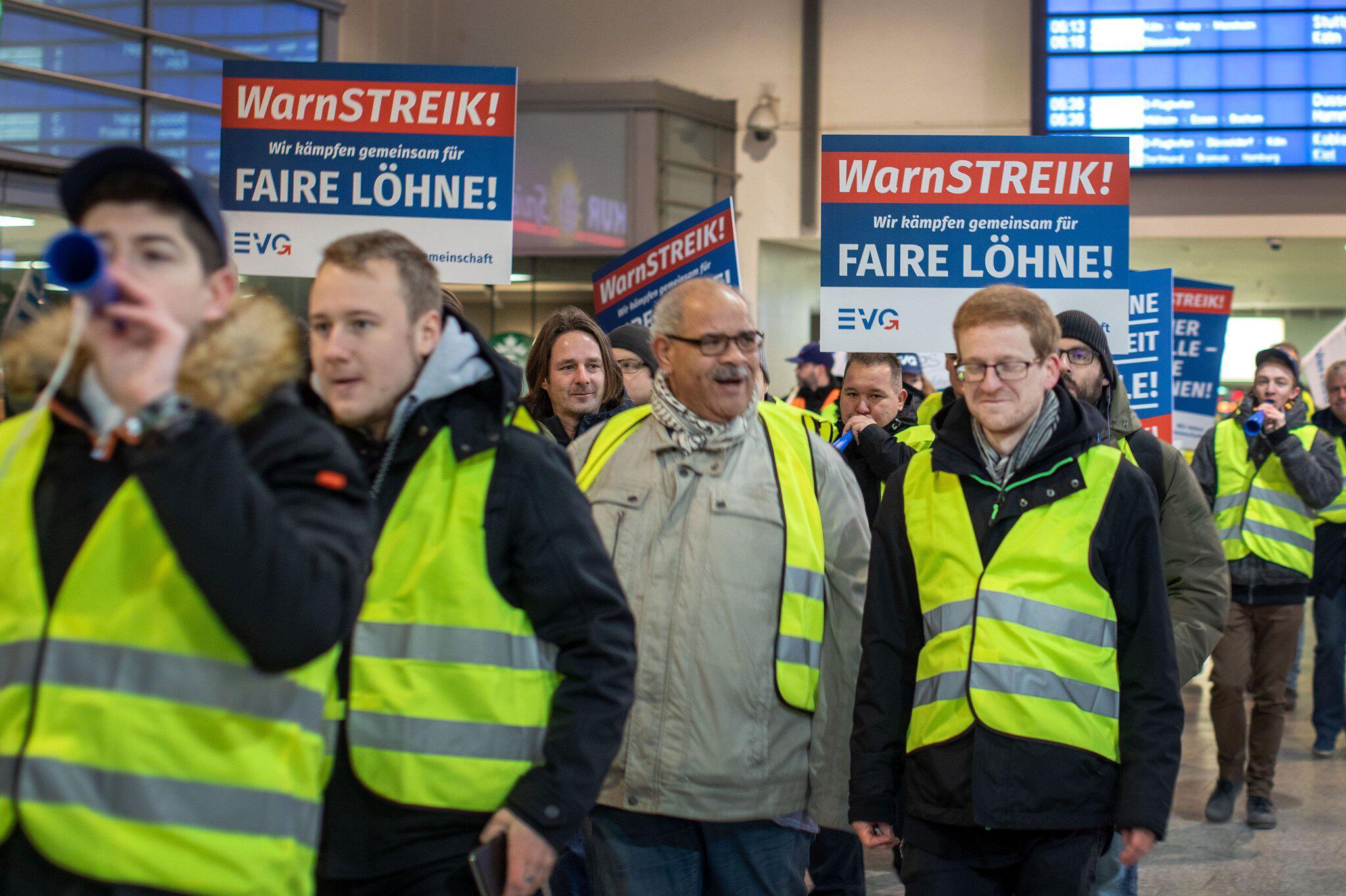 Streik Deutsche Bahn