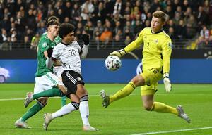 Serge Gnabry, Nationalmannschaft, Deutschland, Nordirland, EM 2020, EM-Qualifikation, Frankfurt/Main