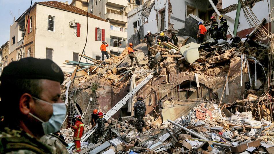 Nach der schweren Explosion in Beirut