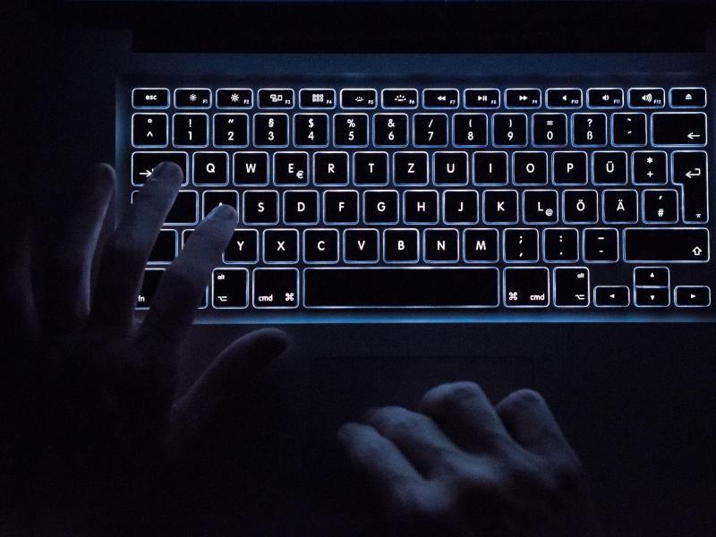 Bild zu Beleuchtete Tastatur