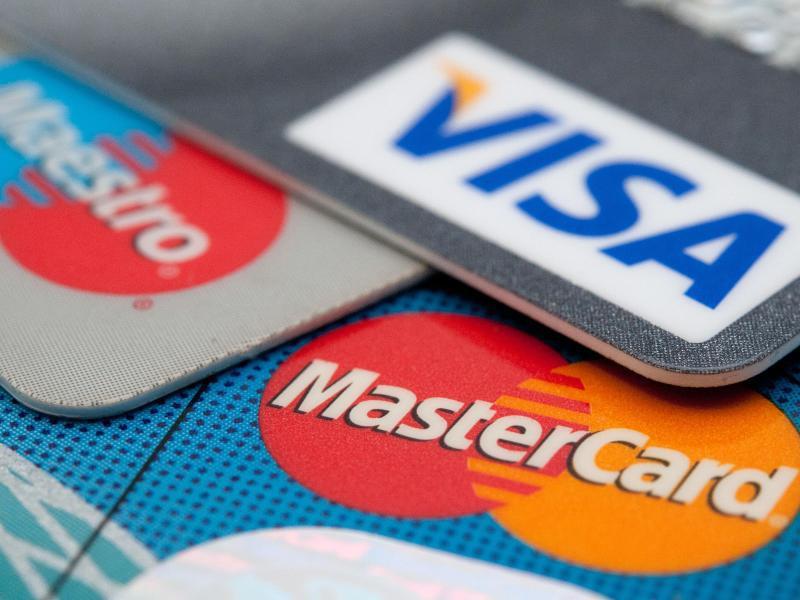 Bild zu Verschiedene Bankkarten