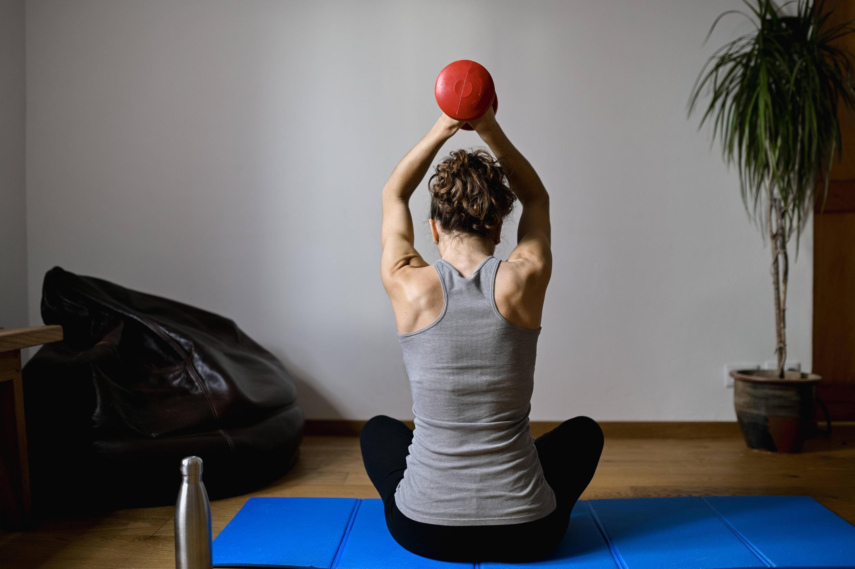 Bild zu Fitness zu Hause