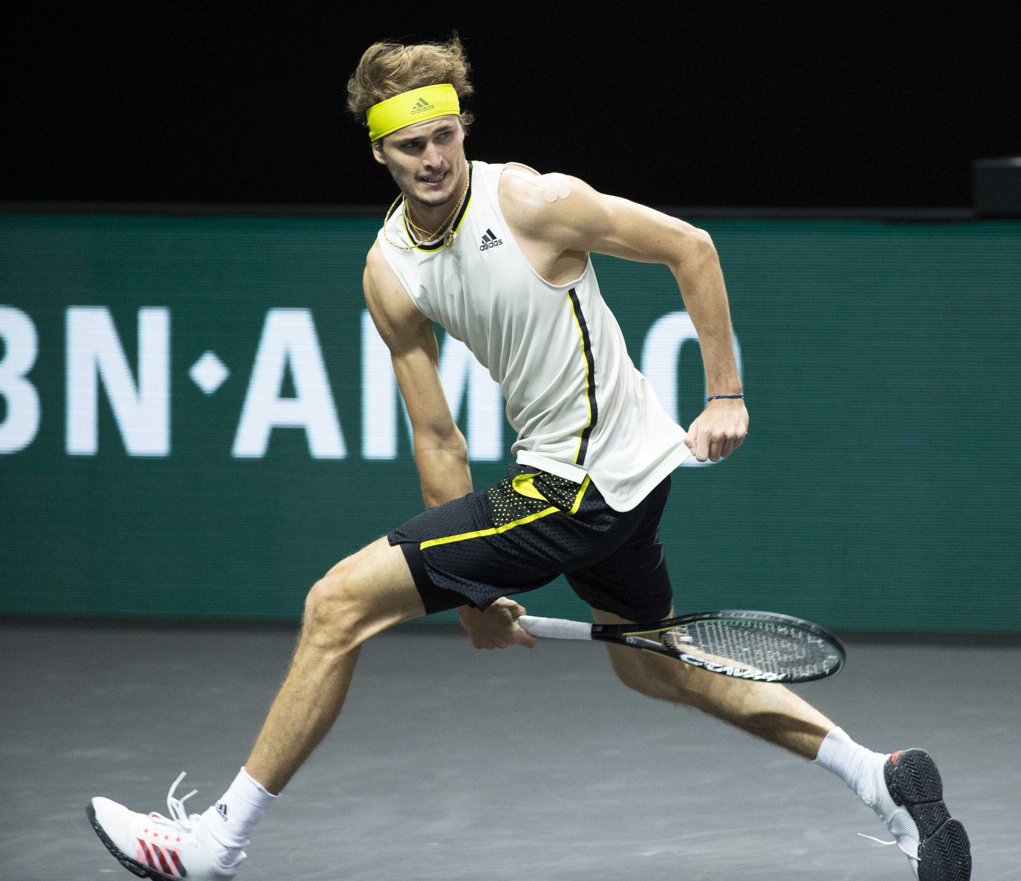 Bild zu ATP-Turnier in Rotterdam Alexnader Zverev